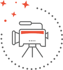 video production icons