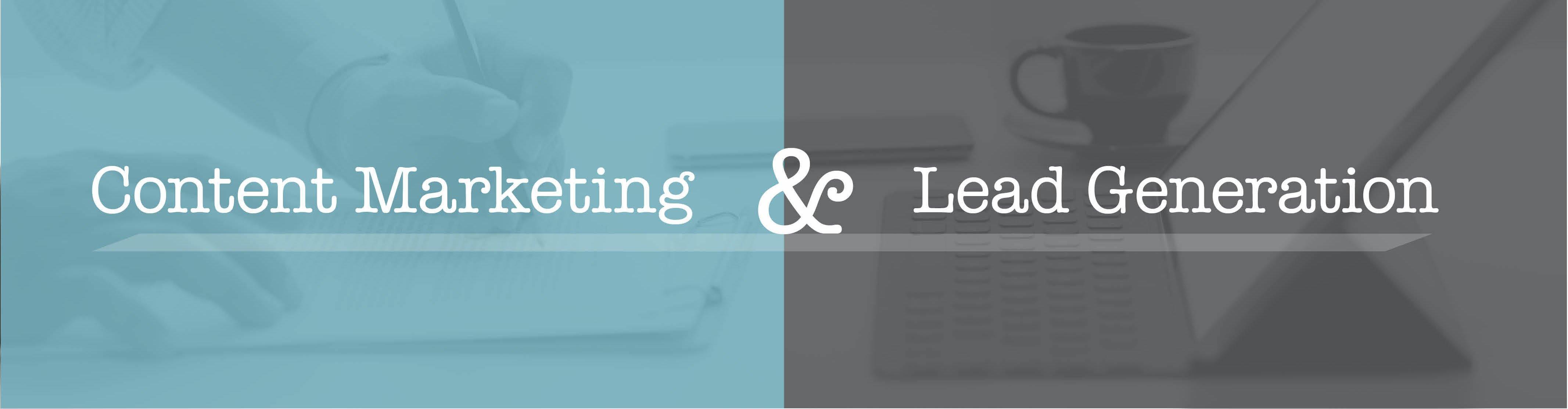 content marketing & lead generation